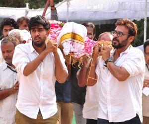 Daggubati Ramanaidu - funeral