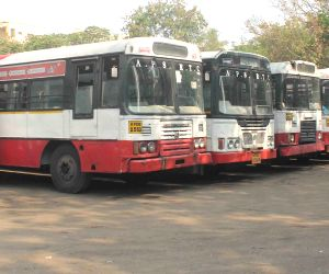 Commuters inconvenienced as APSRTC employees go on strike
