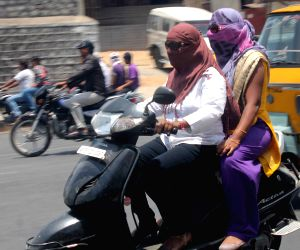Hot day in Hyderabad
