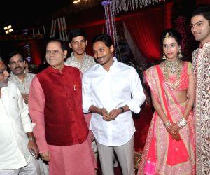 Hyderabad: Subbarami Reddy Grand Son Rajiv Marriage