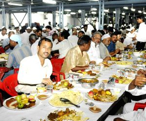 Iftar party at Bihar CM's residence
