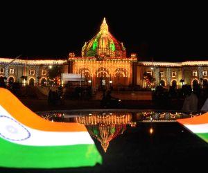 Illuminuted Uttar Pradesh Vidhan Sabha