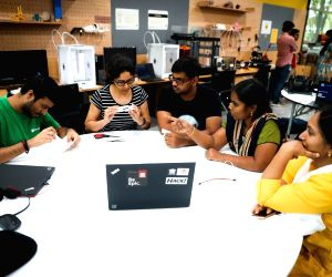 Free Photo: Microsoft India hackathon empowering customers, NGOs