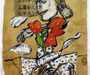 Free Photo: Exhibition traces C. Douglas' artistic journey in past 2 decades