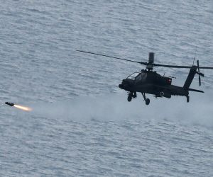 Army conducts 1st live-fire drill with Hellfire missiles