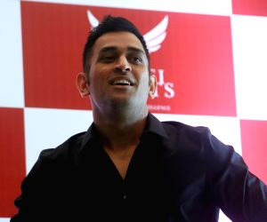 MS Dhoni during a programme