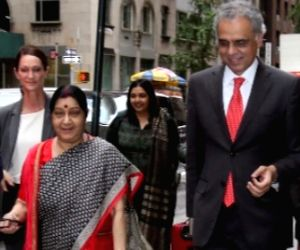 Swaraj has gruelling schedule at UNGA session