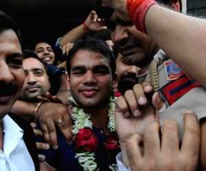 Narsingh Yadav gets NADA clearance