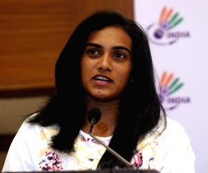 BAI press conference - PV Sindhu