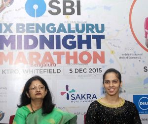 Saina Nehwal - press conference