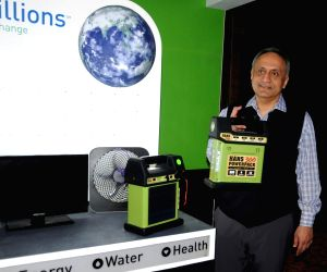 Manoj Bhargava launches solar powerpack