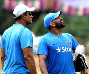 IND Vs NZ - 5th ODI - India Practice