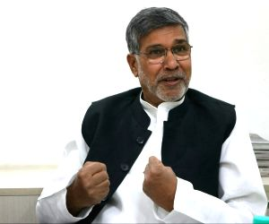 Kailash Satyarthi - interview at IANS Office