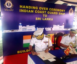 India hands over patrol vessel Varuna to Sri Lanka