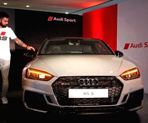 Virat Kohli launches Audi RS 5 Coupe