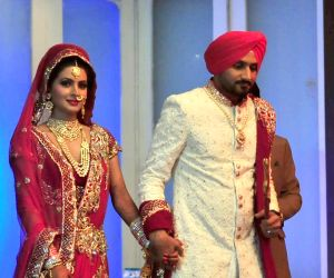 Harbhajan Singh-Geeta Basra marriage ceremony