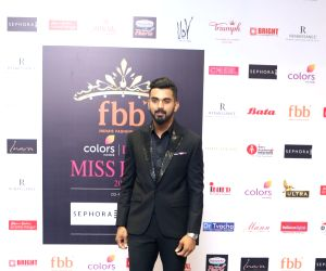 Red Carpet for the Grand finale of Miss India 2018 - Lokesh Rahul