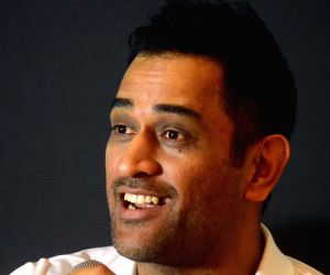 M.S. Dhoni at the launch of 360 degree sports tech-ecosystem