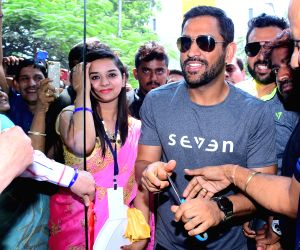 Dhoni launches 'Seven By Ms Dhoni' store