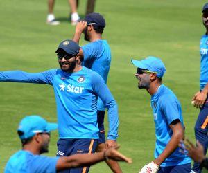 India vs Bangladesh - Practice session - Ravindra Jadeja