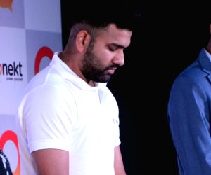 Rohit Sharma at the launch of a product