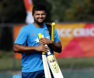 Melbourne (Australia): ICC World Cup 2015 - Practice session - India