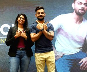 Virat Kohli during a promotional programme