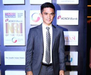 NRI of the Year Awards 2018 - Sunil Chhetri