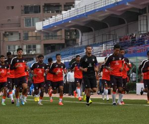Indian Football Team - Practice Session