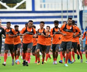 2019 AFC Asian Cup qualifier match - India practice session