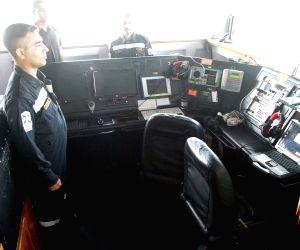 Malabar naval exercise - INS Shivalik