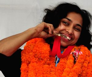 Agartala: Deepa Karmarkar felicitated