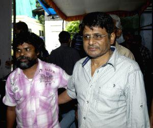 Indian Idol at Filmistan Studio, Mumbai, Tuesday evening.