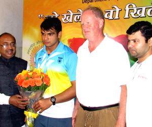 Neeraj Chopra in Delhi