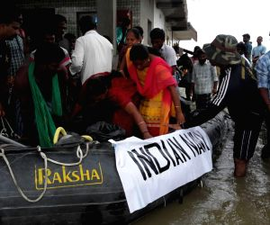 Rescue operations in flood affected Chennai