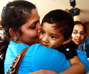 Indian nurses arrive from Libya