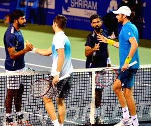 ATP Chennai Open 2017 - Rohan Bopanna and Jeevan Nedunchezhiyan Vs Marcelo Demoliner and Nikola Mektic