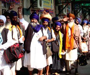 PAKISTAN-LAHORE-INDIAN SIKH PILGRIMS