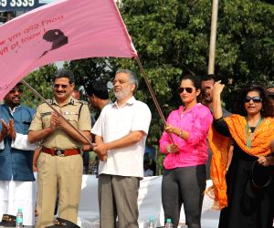 Sania Mirza flags-off a rally against child sexual abuse