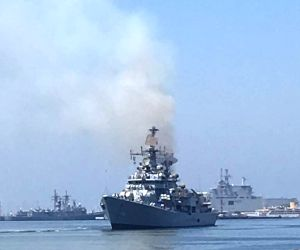 Indian Naval ships visiting Egypt