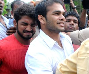 Narsingh Pancham Yadav at NADA office