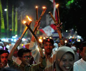 (WORLD SECTION) INDONESIA-JAKARTA-ISLAMIC NEW YEAR-CELEBRATION