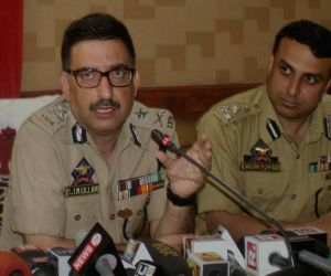 IG Javaid Mujtaba Gilani's press conference