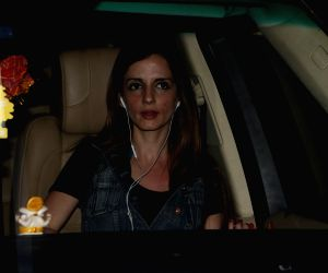 Sussanne Khan at Airport