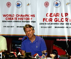 IAAF president Sebastian Coe's press conference