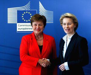 BELGIUM-BRUSSELS-EU-IMF-FINANCIAL FRAMEWORK PARTNERSHIP AGREEMENT