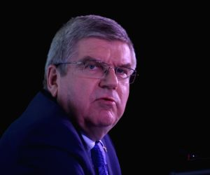 Thomas Bach's press conference