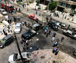 EGYPT CAIRO PROSECUTOR GENERAL BOMB ATTACK DEATH