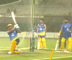 Free Photo: IPL 2020: Dhoni sounds warning bells, smashes five sixes