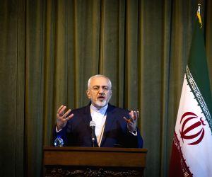 IRAN TEHRAN GERMANY ZARIF STEINMEIER PRESS CONFERENCE